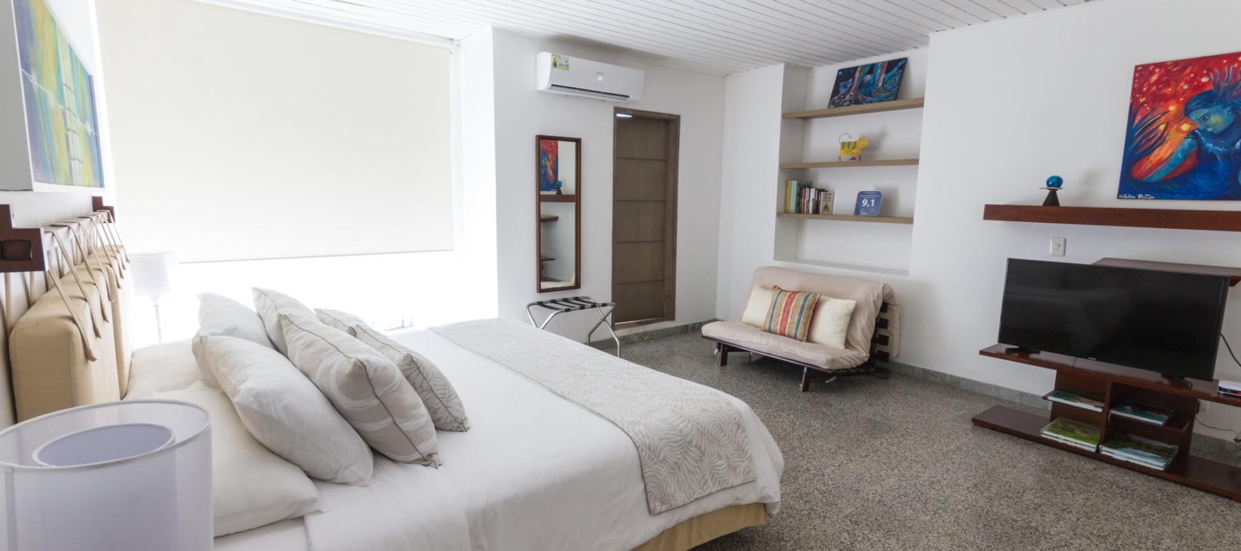 Habitaciones modernas y cómodas